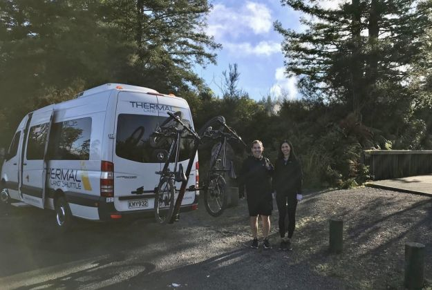 Te Ara Ahi Cycle Trail Tour | Transport van