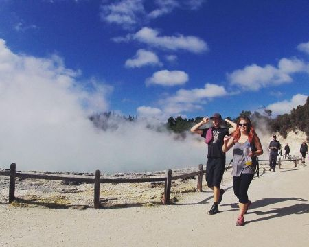 Wai-O-Tapu & Waimangu Full Day Thermal Tour | Thermal Land Shuttle