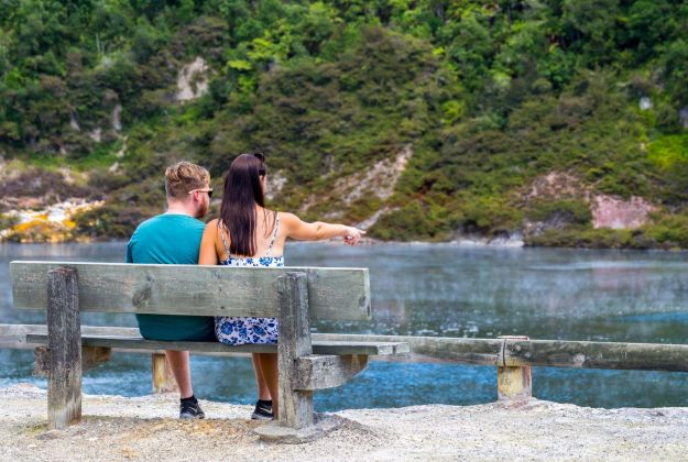 Waimangu Valley Lake | Thermal Land Shuttle