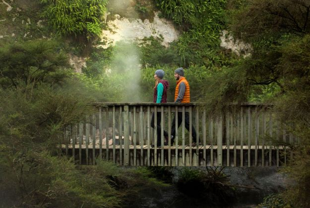 Bridge Waimangu Valley | Thermal Land Shuttle